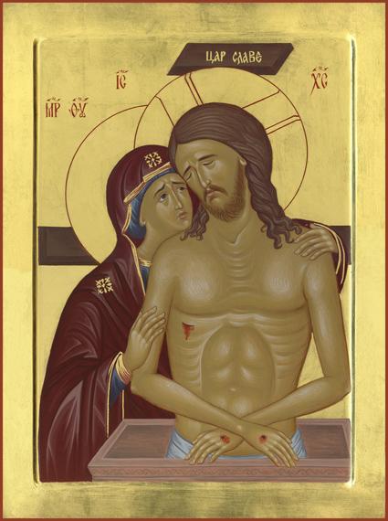Bogorodica s Hristom pijeta