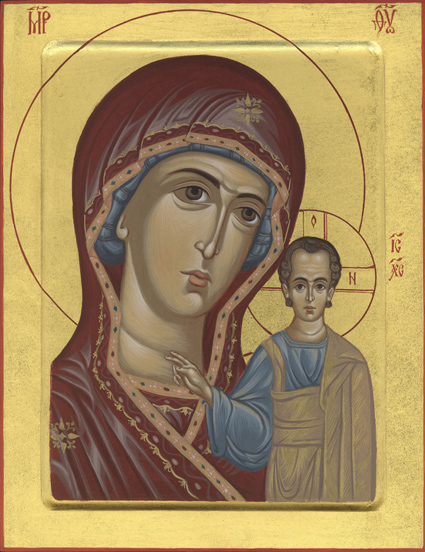 Bogorodica sa Hristom Kazanska