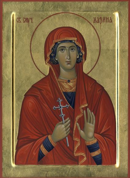 Sveta Marina Ognjena Marija